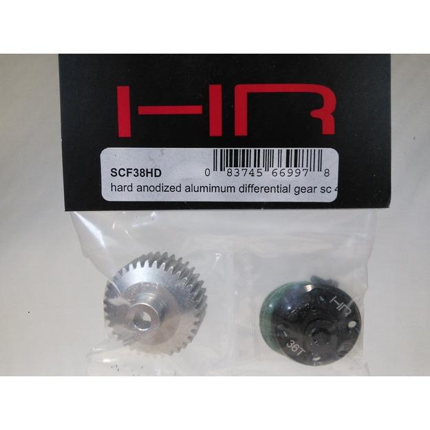 Hot Racing SCF38HD Hard Anodized Alumimum Differential Gear Sc 4x4